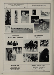Page 168, 1970 Edition, Black River High School - Echo Yearbook (Sullivan, OH) online yearbook collection