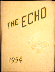 Page 1, 1954 Edition, Jackson Milton High School - Echo Yearbook (North Jackson, OH) online yearbook collection