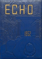 East Canton High School - Echo Yearbook (East Canton, OH) online yearbook collection, 1952 Edition, Page 1
