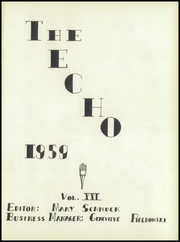Page 5, 1959 Edition, East Canton High School - Echo Yearbook (East Canton, OH) online yearbook collection