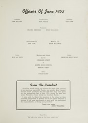 Page 3, 1953 Edition, South High School - Sohian Yearbook (Akron, OH) online yearbook collection