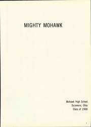 Page 7, 1968 Edition, Mohawk High School - Mighty Mohawk Yearbook (Sycamore, OH) online yearbook collection
