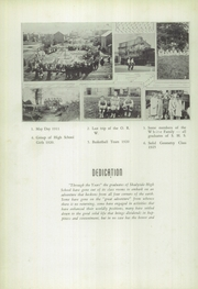 Page 8, 1940 Edition, Shadyside High School - Shadean Yearbook (Shadyside, OH) online yearbook collection
