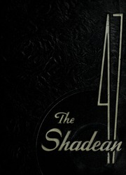 Page 1, 1947 Edition, Shadyside High School - Shadean Yearbook (Shadyside, OH) online yearbook collection