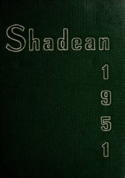 Page 1, 1951 Edition, Shadyside High School - Shadean Yearbook (Shadyside, OH) online yearbook collection