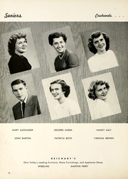 Page 14, 1951 Edition, Shadyside High School - Shadean Yearbook (Shadyside, OH) online yearbook collection