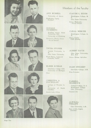 Page 14, 1946 Edition, Newcomerstown High School - Newcosean Yearbook (Newcomerstown, OH) online yearbook collection