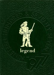 1977 Edition, Huntington High School - Legend Yearbook (Chillicothe, OH)