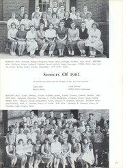 Page 15, 1961 Edition, Crooksville High School - Crux Hi Skan Yearbook (Crooksville, OH) online yearbook collection