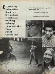 Page 16, 1972 Edition, Courter Technical High School - Pendulum Yearbook (Cincinnati, OH) online yearbook collection