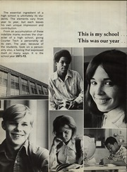 Page 6, 1972 Edition, Courter Technical High School - Pendulum Yearbook (Cincinnati, OH) online yearbook collection