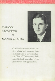 Page 7, 1939 Edition, Plymouth High School - Mayflower Yearbook (Plymouth, OH) online yearbook collection