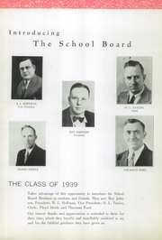 Page 8, 1939 Edition, Plymouth High School - Mayflower Yearbook (Plymouth, OH) online yearbook collection