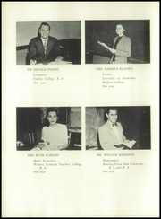 Page 12, 1952 Edition, Plymouth High School - Mayflower Yearbook (Plymouth, OH) online yearbook collection