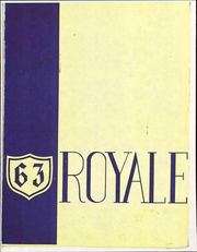 1963 Edition, Elmwood High School - Royale Yearbook (Bloomdale, OH)