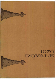 1970 Edition, Elmwood High School - Royale Yearbook (Bloomdale, OH)