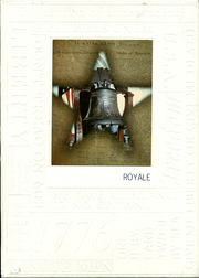 1976 Edition, Elmwood High School - Royale Yearbook (Bloomdale, OH)