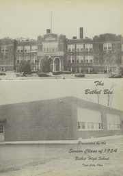 Page 5, 1954 Edition, Bethel High School - Bee Yearbook (Tipp City, OH) online yearbook collection