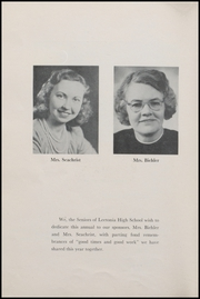 Page 12, 1947 Edition, Leetonia High School - Lehiscan Yearbook (Leetonia, OH) online yearbook collection