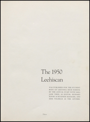 Page 7, 1950 Edition, Leetonia High School - Lehiscan Yearbook (Leetonia, OH) online yearbook collection