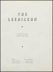 Page 5, 1953 Edition, Leetonia High School - Lehiscan Yearbook (Leetonia, OH) online yearbook collection