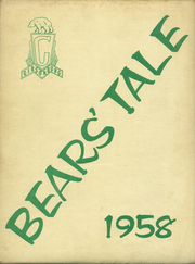 1958 Edition, Gibsonburg High School - Bears Tale Yearbook (Gibsonburg, OH)