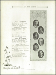 Page 16, 1926 Edition, Ada High School - We Yearbook (Ada, OH) online yearbook collection