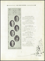 Page 17, 1926 Edition, Ada High School - We Yearbook (Ada, OH) online yearbook collection