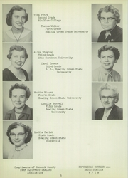 Page 10, 1955 Edition, Riverdale High School - Talon Yearbook (Mount Blanchard, OH) online yearbook collection