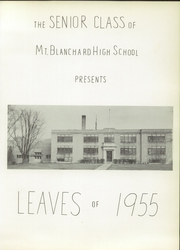 Page 5, 1955 Edition, Riverdale High School - Talon Yearbook (Mount Blanchard, OH) online yearbook collection