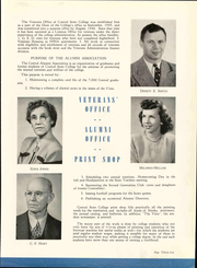 Page 39, 1948 Edition, University of Central Oklahoma - Bronze Yearbook (Edmond, OK) online yearbook collection