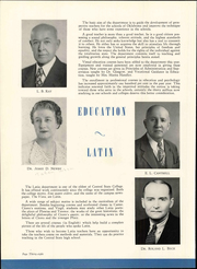 Page 42, 1948 Edition, University of Central Oklahoma - Bronze Yearbook (Edmond, OK) online yearbook collection
