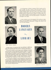 Page 48, 1948 Edition, University of Central Oklahoma - Bronze Yearbook (Edmond, OK) online yearbook collection