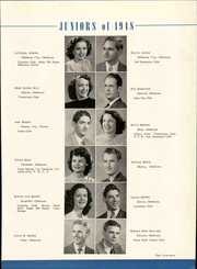 Page 71, 1948 Edition, University of Central Oklahoma - Bronze Yearbook (Edmond, OK) online yearbook collection