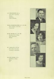 Page 11, 1934 Edition, Spencerville High School - Echoes Yearbook (Spencerville, OH) online yearbook collection