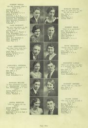 Page 13, 1934 Edition, Spencerville High School - Echoes Yearbook (Spencerville, OH) online yearbook collection