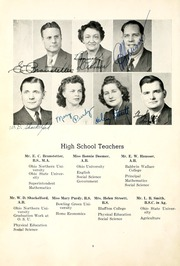 Page 14, 1947 Edition, Spencerville High School - Echoes Yearbook (Spencerville, OH) online yearbook collection