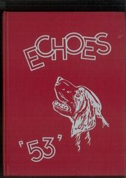 Page 1, 1953 Edition, Spencerville High School - Echoes Yearbook (Spencerville, OH) online yearbook collection