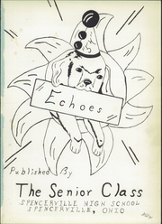 Page 5, 1954 Edition, Spencerville High School - Echoes Yearbook (Spencerville, OH) online yearbook collection