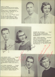 Page 17, 1957 Edition, Spencerville High School - Echoes Yearbook (Spencerville, OH) online yearbook collection