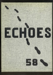 Spencerville High School - Echoes Yearbook (Spencerville, OH) online yearbook collection, 1958 Edition, Page 1