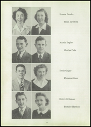 Page 16, 1944 Edition, Liberty Center High School - Tigeron Yearbook (Liberty Center, OH) online yearbook collection