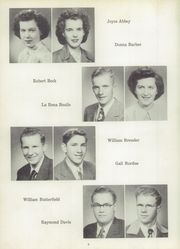 Page 10, 1951 Edition, Liberty Center High School - Tigeron Yearbook (Liberty Center, OH) online yearbook collection