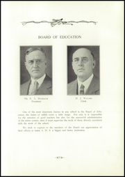 Page 13, 1928 Edition, Archbold High School - Blue Streak Yearbook (Archbold, OH) online yearbook collection