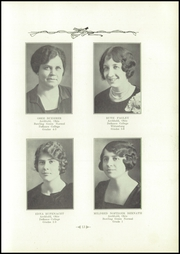 Page 17, 1928 Edition, Archbold High School - Blue Streak Yearbook (Archbold, OH) online yearbook collection