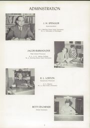 Page 9, 1954 Edition, Archbold High School - Blue Streak Yearbook (Archbold, OH) online yearbook collection