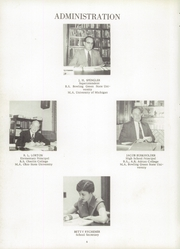 Page 8, 1955 Edition, Archbold High School - Blue Streak Yearbook (Archbold, OH) online yearbook collection