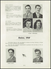 Page 9, 1948 Edition, Covington High School - Buccaneers Yearbook (Covington, OH) online yearbook collection