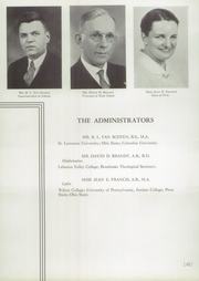 Page 16, 1937 Edition, Mechanicsburg High School - Hilltopper Yearbook (Mechanicsburg, OH) online yearbook collection
