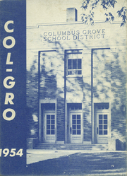 1954 Edition, Columbus Grove High School - Col Gro Yearbook (Columbus Grove, OH)